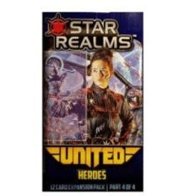 White Wizard Games Star Realms: Ext. United Heroes (EN)  (commande spéciale)