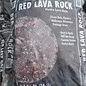 Red Lava Rock Bag - .5cf