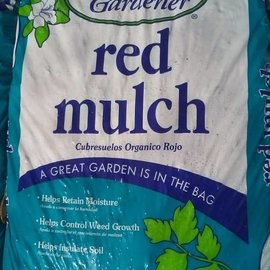 Red Mulch Bag - 2 cu ft