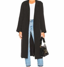 Smythe Bathrobe Trench Black