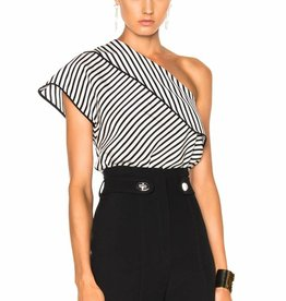 DVF DVF One Shoulder Blouse