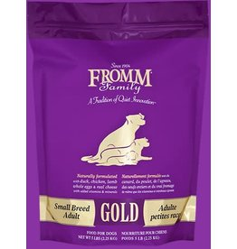 Fromm Family Small Breed Adult Gold 15lbs