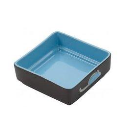 "Ethical Pet Four Square Cat Dish Blue 5"""