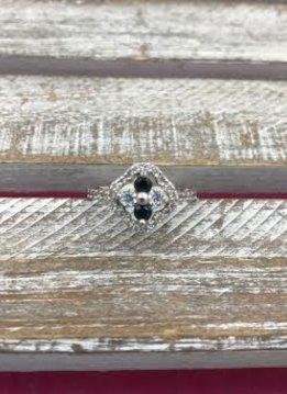 Ring Italian Sterling Silver Ring Sz 9