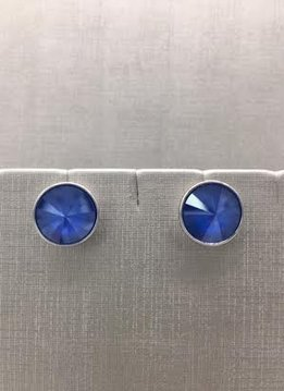Earring Forever Stud XL Sapphire