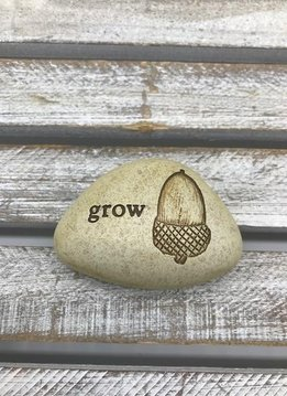 Small Inspirational Grow Token with Acorn
