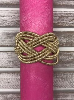 Magnetic Braided Gold Bracelet