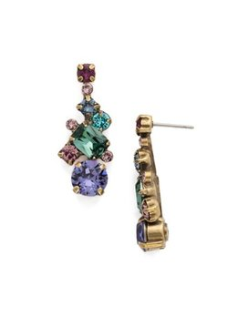 Sorrelli Gold Jewel Tone Earrings