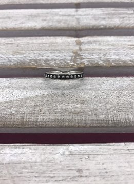 Stainless Steel Dots Ring