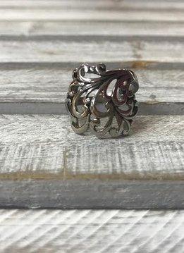 Stainless Steel Multiple Swirl Ring