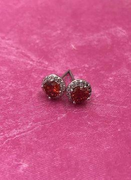January Birthstone Earrings