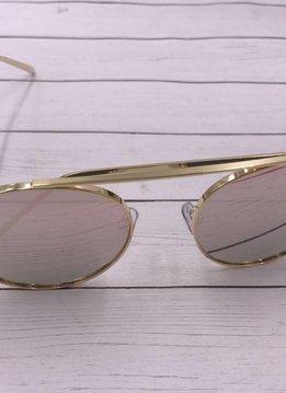 Trendy Round Lens Sunglasses