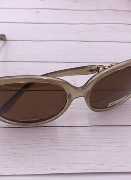 Polarized Trendy Oval Sunglasses