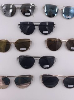 NYS Cateye Metal Frame Sunglasses