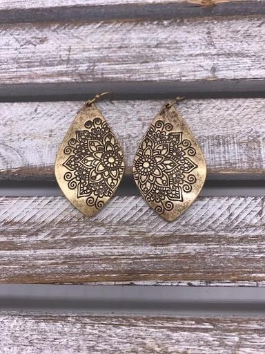 Antique Gold Earrings