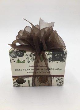 Earth Luxe Soap Bali Teakwood And Cardamom
