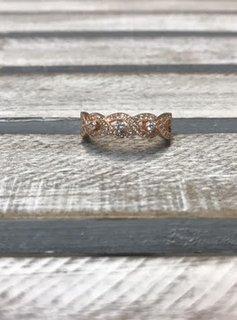 Sterling CZ Ring