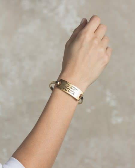 Lenny & Eva Gold Eva Bangle Bracelet