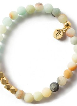 Lenny & Eva Amazonite Gemstone 6mm Bracelet