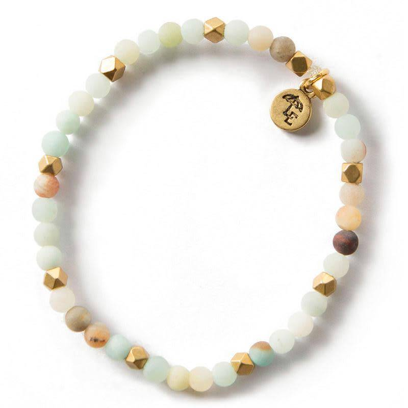 Lenny & Eva Amazonite Gemstone 4mm Bracelet