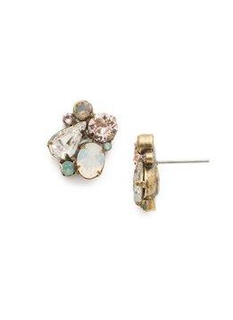 "Sorrelli Daffidil 5/8"" Antique Gold stud Earrings"