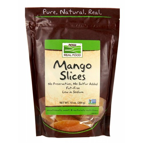 NOW MANGO SLICES 10 OZ.
