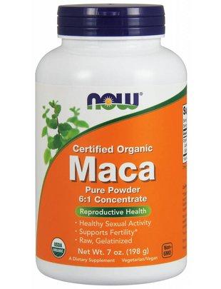NOW FOODS MACA 6:1 CONC POWDER ORG 7 OZ