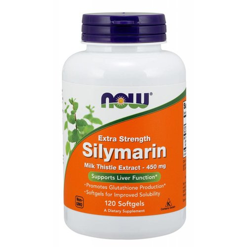 NOW SILYMARIN MILK THISTLE 450mg  120 SGELS