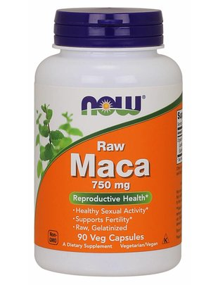 NOW FOODS MACA 750 MG (6:1 CONC) 90 VCAPS