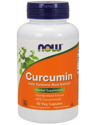 NOW FOODS CURCUMIN 60 CP