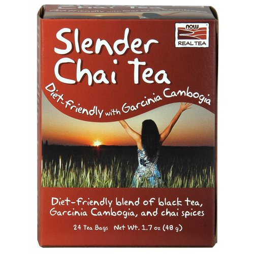 NOW SLENDER CHAI TEA 24 BAGS