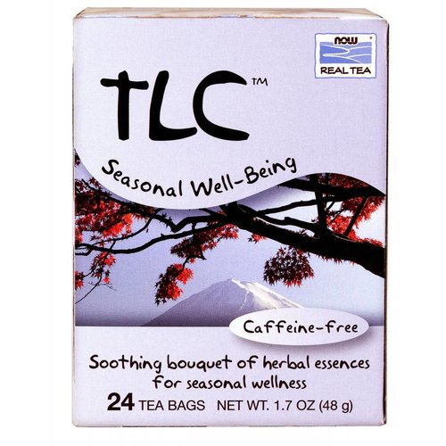 NOW TLC THROAT & LUNG TEA BAGS  24 BAGS