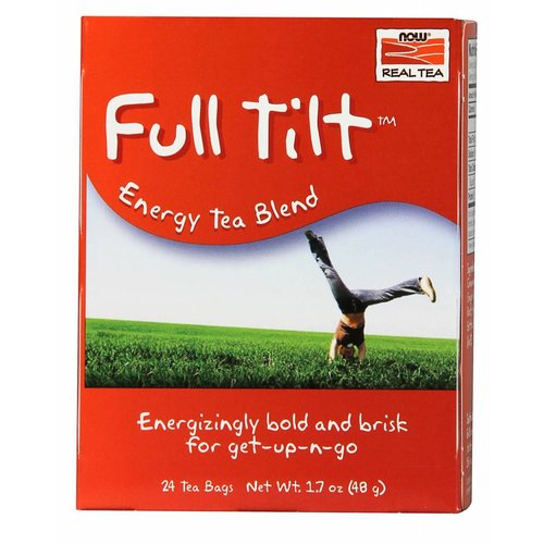NOW FULL TILT TEA BAGS  24 BAGS
