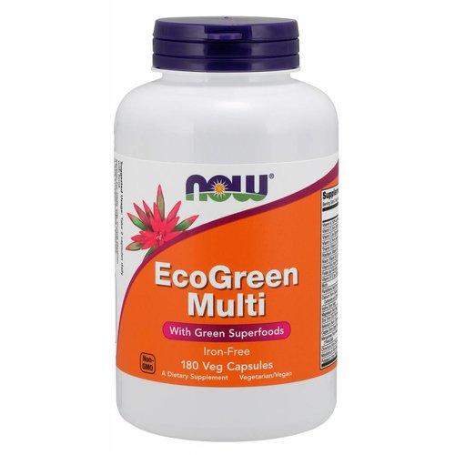 NOW EcoGreen Multi 180caps