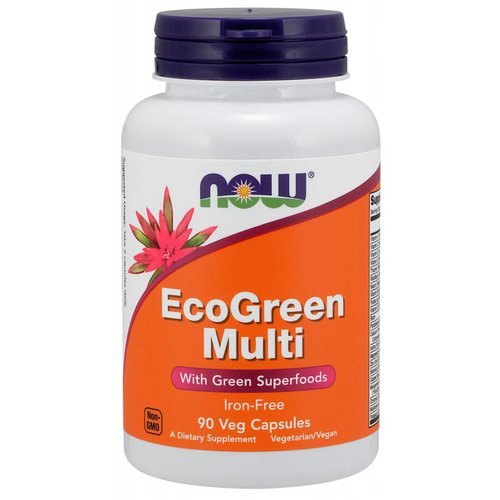 NOW EcoGreen Multi 90caps