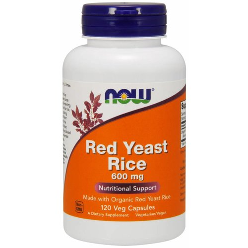 NOW Red Yeast Rice 600mg 120 caps