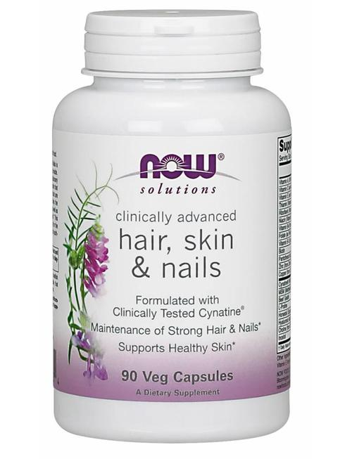 NOW FOODS HAIR, SKIN, & NAILS 90 vcaps