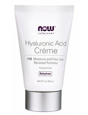 NOW FOODS HYALURONIC ACID CREME PM