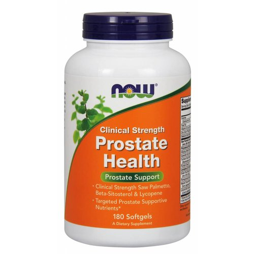 NOW CLINICAL PROSTATE HEALTH 180 SGELS