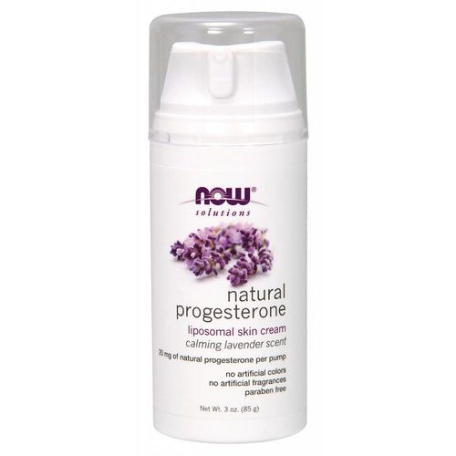 NOW PROGESTERONE CREAM W/LAVENDER    3 OZ