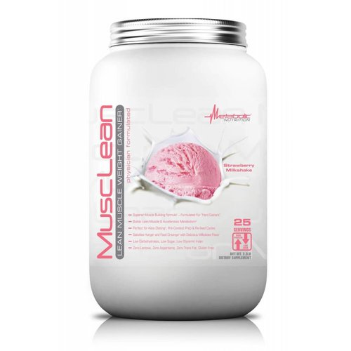 Metabolic Nutrition MUSCLELEAN STRAWBERRY 2.5LBS
