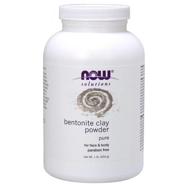 NOW BENTONITE POWDER EXTERNAL 1 LB