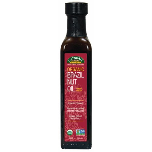 NOW ORGANIC BRAZIL NUT OIL 8.45 FL OZ