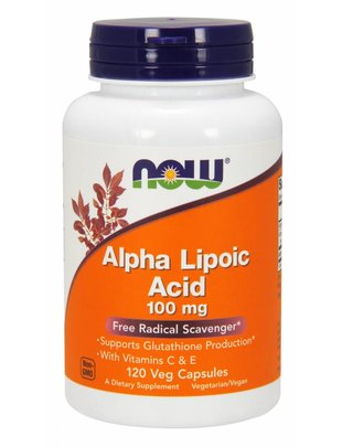 NOW FOODS ALPHA LIPOIC ACID 100mg 120caps