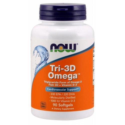 NOW Tri-3D Omega 330EPA/220DHA 90 softgels