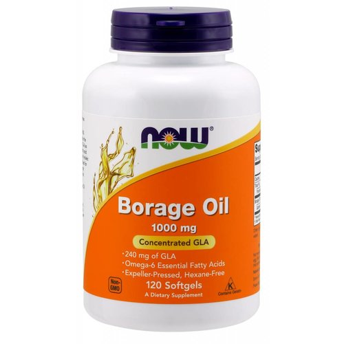 NOW Borage Oil 1000mg 120 softgels