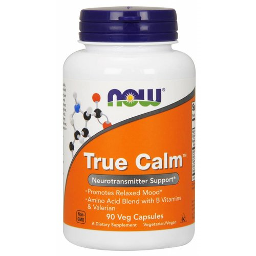 NOW TRUE CALM AMINO RELAXER   90 VCAPS