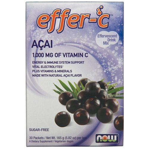 NOW EFFER-C(TM)  ACAI BERRY 30/BOX