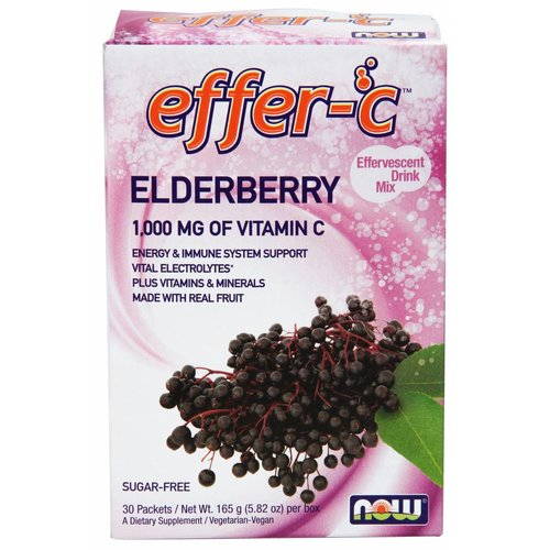 NOW EFFER-C(TM) ELDERBERRY 30/BOX