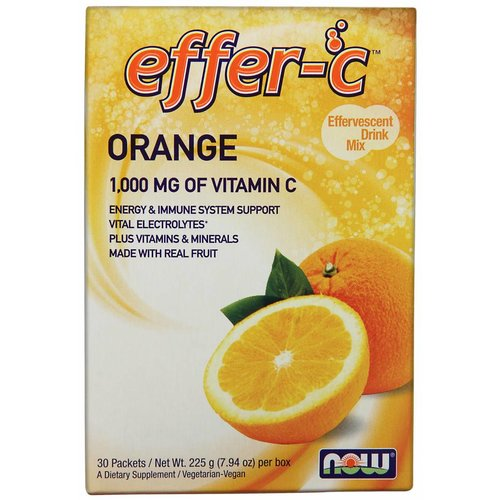NOW EFFER-C(TM) ORANGE  30/BOX
